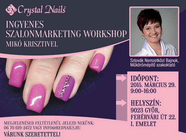 SZALONMARKETING - INGYENES WORKSHOP