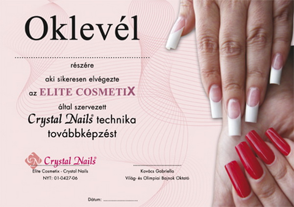 Crystal Nails technika