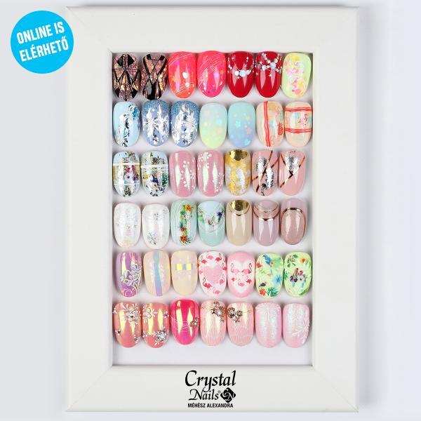 Szalon nail Art mix díszítő tanfolyam